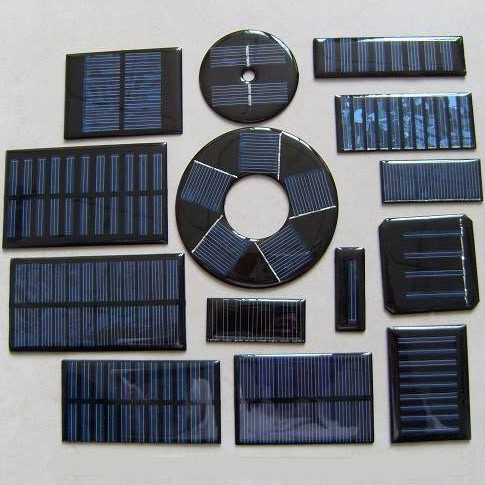 Small Epoxy Resin Solar Panel, Mini PET PV Solar Panels_1