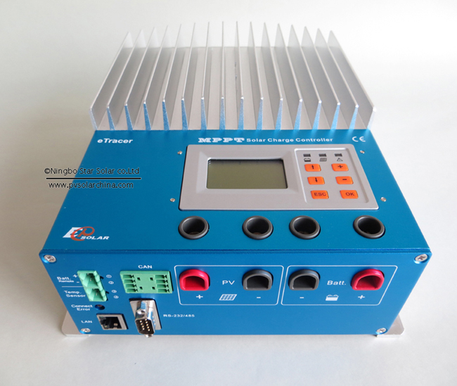 20A 48A eTracer ET6415 MPPT Solar Charge Controller regulators