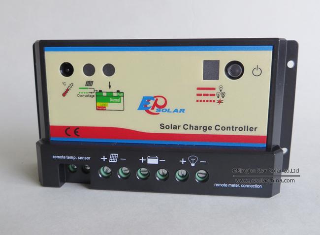 Epipc-com 10A Solar Controller for RVs Narrow boat Caravans Yac