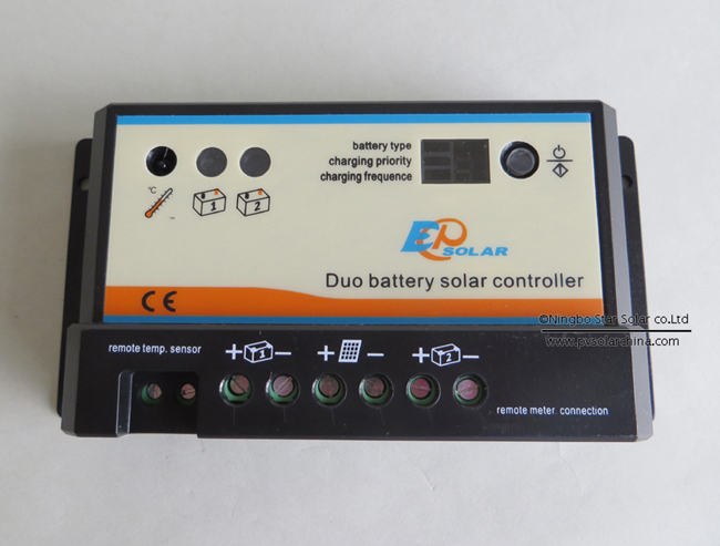 Epipdb-com 10A Dual battery Solar Controller for Golf Cart (4)