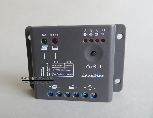 LS0512R LandStar 5A 12V Solar charge controller for lamp
