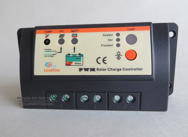 LS1024 Landstar 10A 12V 24V Solar Charge Controller