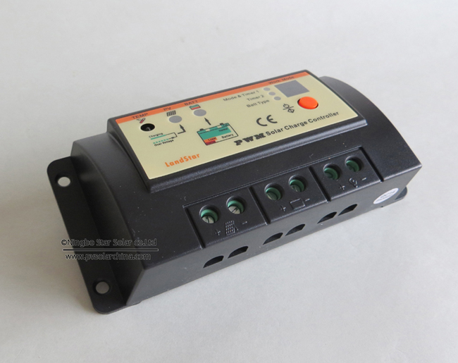 LS1024R Landstar 10A 12V 24V Solar Charge Controller for lamp (2)