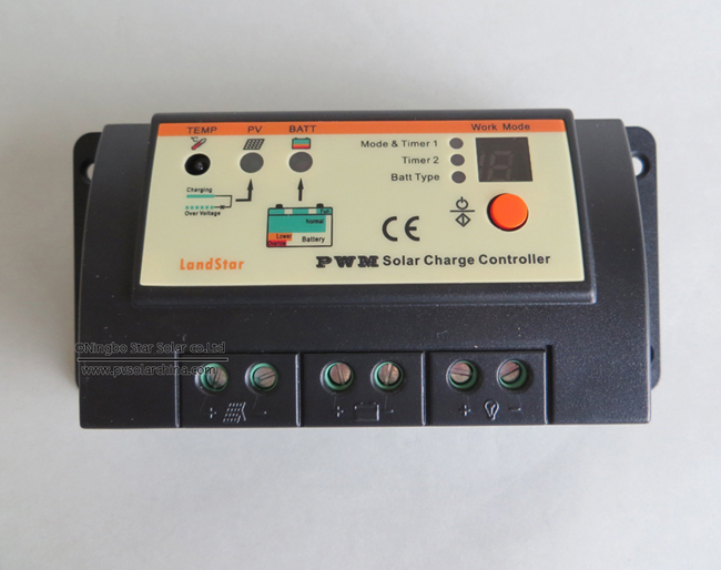 LS1024R Landstar 10A 12V 24V Solar Charge Controller for lamp (4)