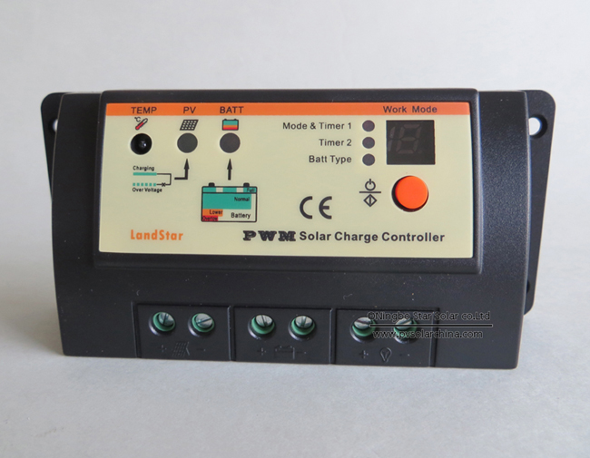 LS1024R Landstar 10A 12V 24V Solar Charge Controller for lamp