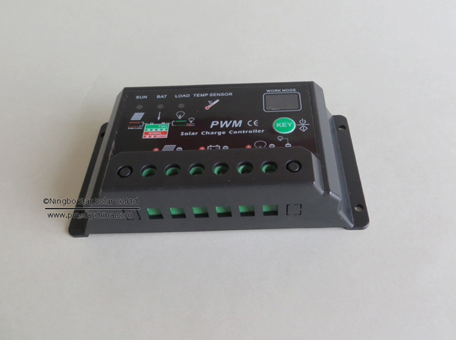 SCL 10A 12V 24V auto PWM intelligence Solar Charge Controller (1)