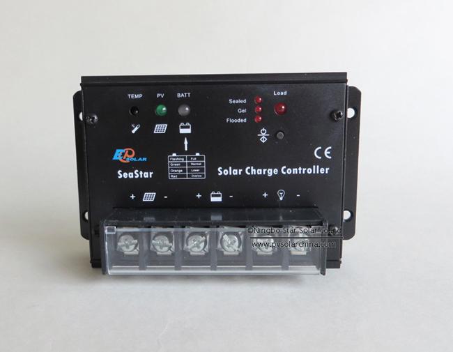 SS1024 10A 12V 24V SeaStar Solar Charge Controller