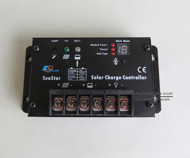 SS1024R 10A 12V 24V SeaStar Solar controller for lamp (4)