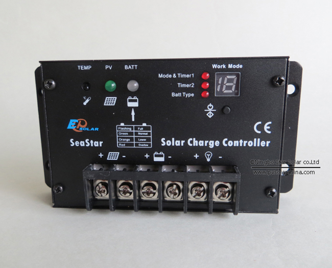 SS1024R 10A 12V 24V SeaStar Solar controller for lamp