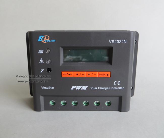 VS1024N 10A 12V 24V LCD ViewStar Solar Controller