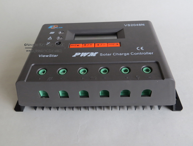 VS2048N 20A 48V LCD ViewStar Solar Charge Controller (1)