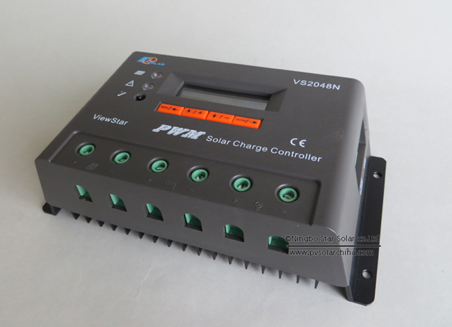 VS2048N 20A 48V LCD ViewStar Solar Charge Controller (2)