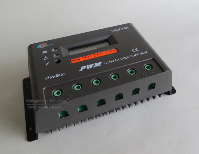 VS2048N 20A 48V LCD ViewStar Solar Charge Controller (3)