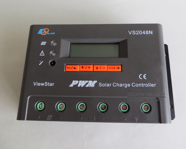 VS2048N 20A 48V LCD ViewStar Solar Charge Controller (4)
