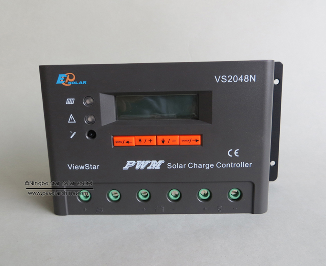 VS2048N 20A 48V LCD ViewStar Solar Charge Controller