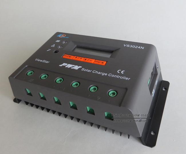 VS3024N 30A 12V 24V LCD ViewStar Solar Controller (1)