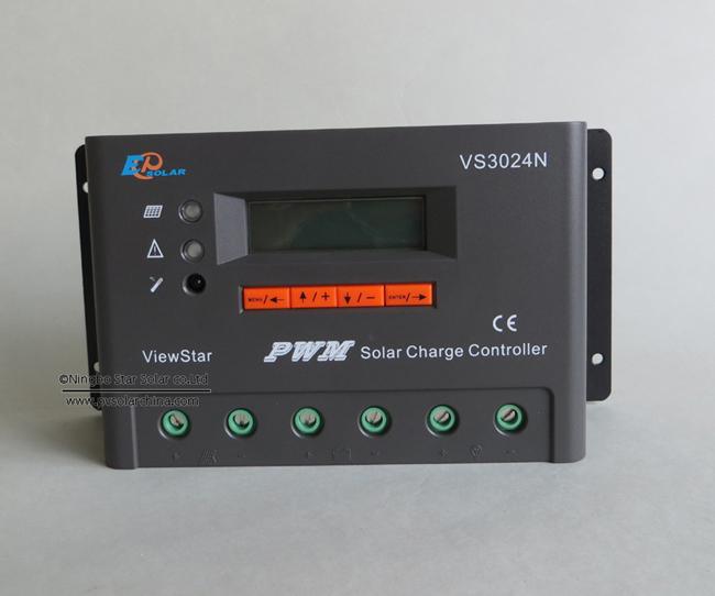 VS3024N 30A 12V 24V LCD ViewStar Solar Controller