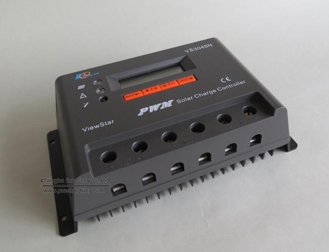 VS3048N 30A 48V LCD ViewStar Solar Charge Controller (3)