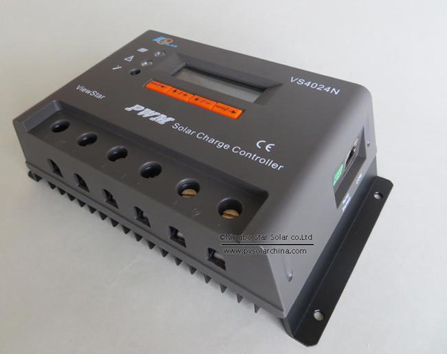 VS4024N 40A 12V 24V LCD ViewStar Solar Controller (2)