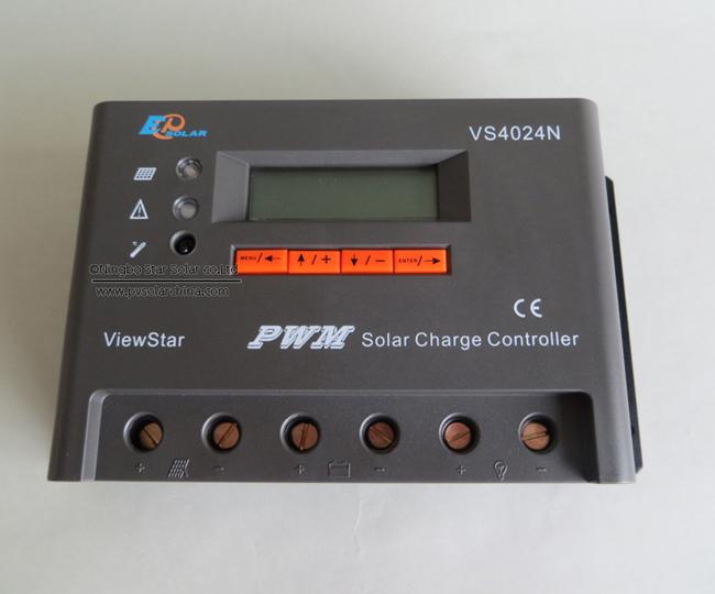 VS4024N 40A 12V 24V LCD ViewStar Solar Controller (4)