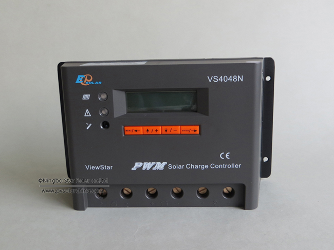 VS4048N 40A 48V LCD ViewStar Solar Charge Controller