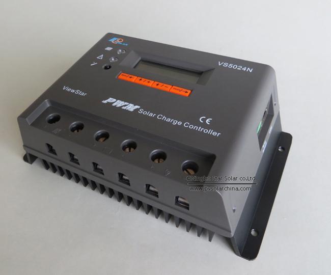 VS5024N 50A 12V 24V LCD ViewStar Solar Controller (2)