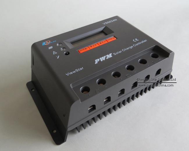 VS5024N 50A 12V 24V LCD ViewStar Solar Controller (3)