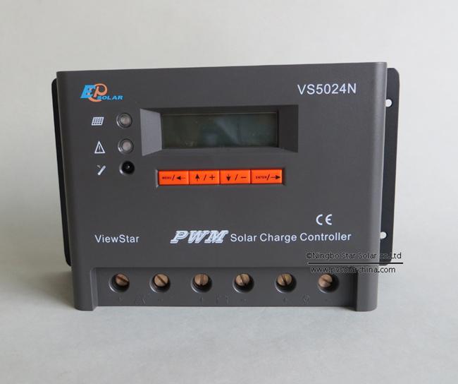 VS5024N 50A 12V 24V LCD ViewStar Solar Controller