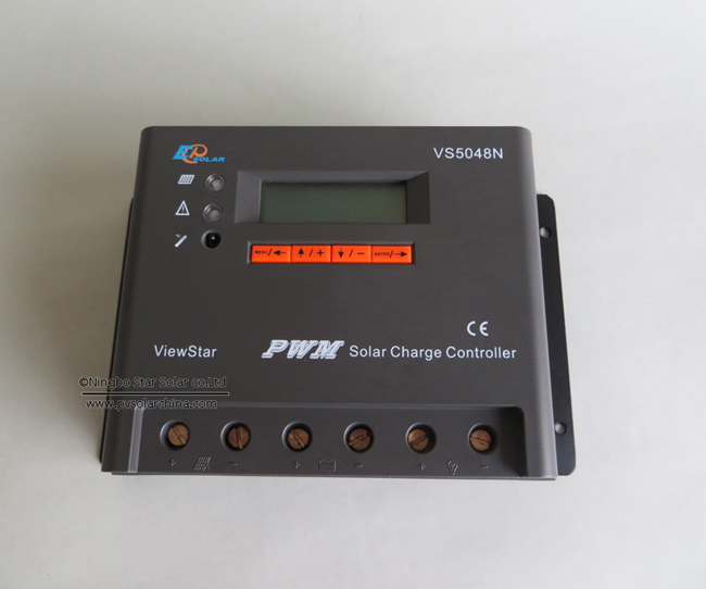 VS5048N 50A 48V LCD ViewStar Solar Charge Controller (3)