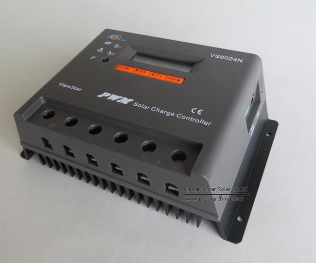 VS6024N 60A 12V 24V LCD ViewStar Solar Controller (2)