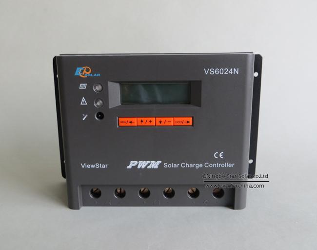 VS6024N 60A 12V 24V LCD ViewStar Solar Controller